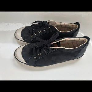 Coach Barrett Black Sneakers